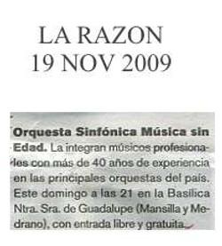 2009-11-19, La Razon