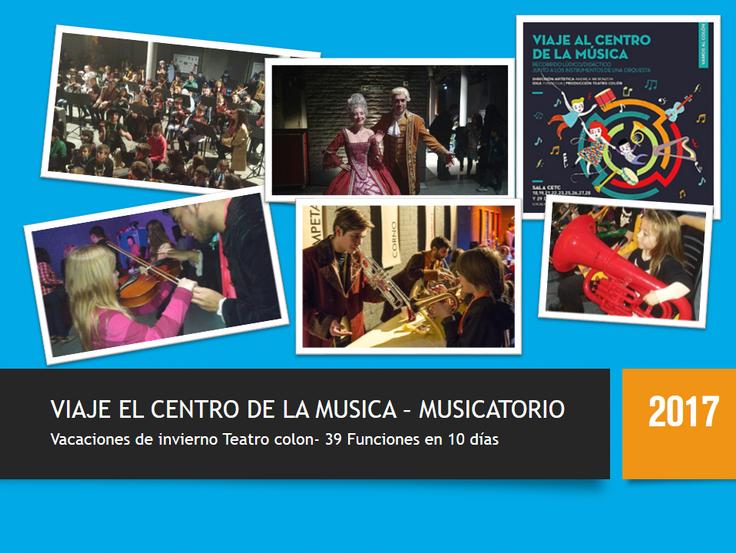 VIAJE AL CENTRO DE LA MUSICA 2017