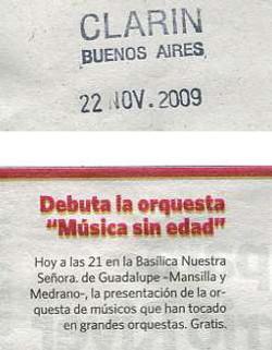 2009-11-26, Clarin