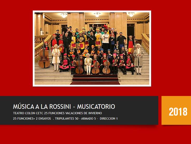 MUSICA A LA ROSSINI EATC
