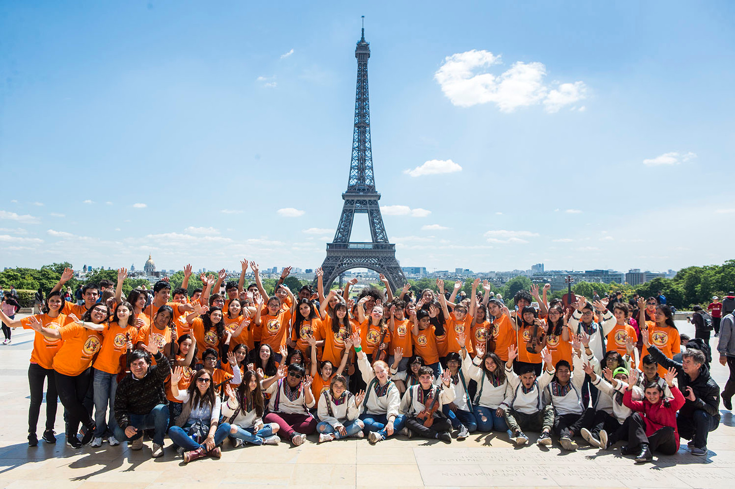 TROCADREO TOUR EIFFEL PARIS