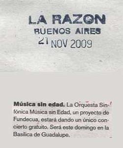 2009-11-21, La Razon