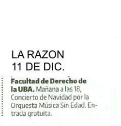 LA RAZON 11 DE DIC