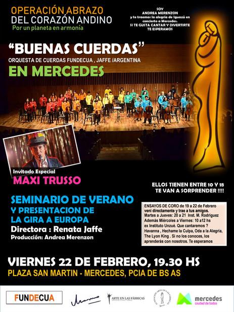 Seminario cinicerto en el Teatro Argentina