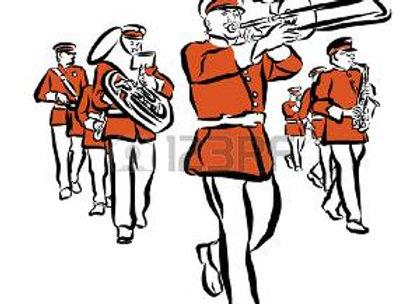 Marcha de San Lorenzo Partes
