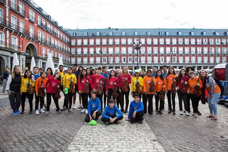 LAS CUERDAS PLAZA MAYOR MADRID
