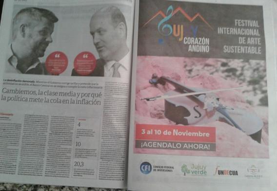 Publicidad: Diario Clarin
