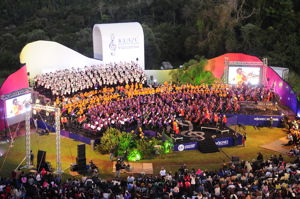 Iguazu en concierto 2014