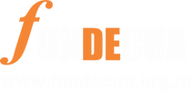 Logos fundecua nuevo transparente negati