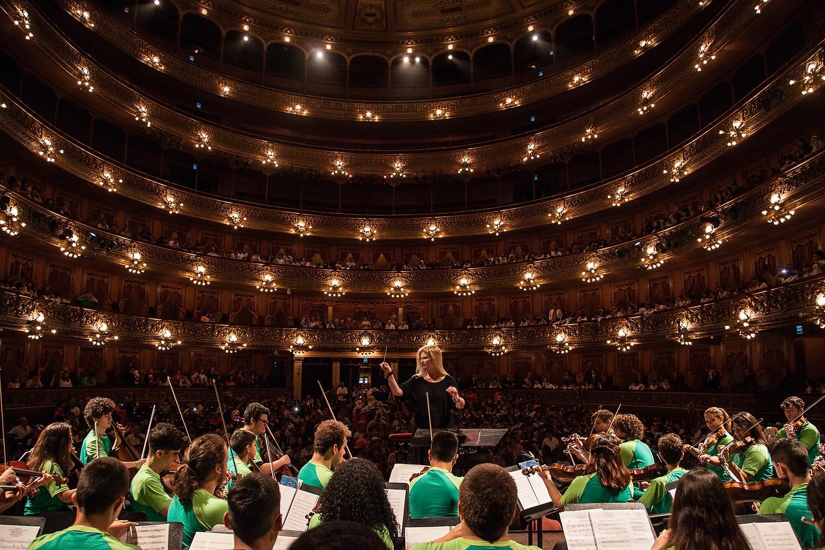 Teatro Colon orquestas juveniles