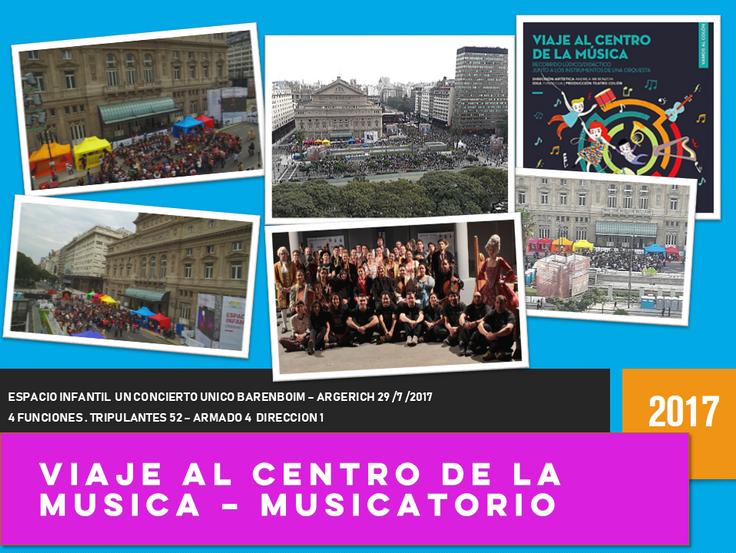 MUSICATORIO EATC 2017