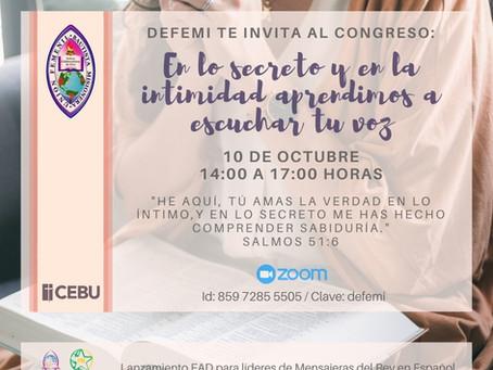 Lanzamiento EAD para lideres de Mensajeras del Rey en español.