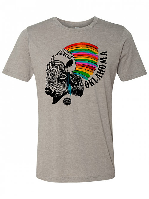 Buffalo headdress tee