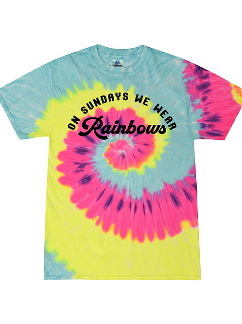 Kid's On Sundays We Wear Rainbows
