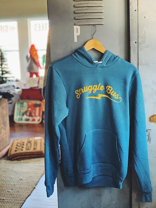 Struggle Bus logo hooded sweatshirt
