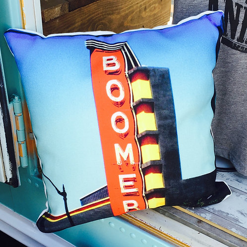 Boomer decorative pillow