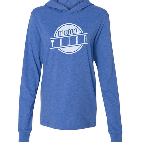 Mama Tried jersey hoodie