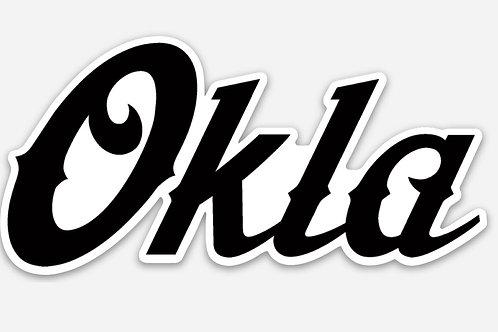 Okla sticker