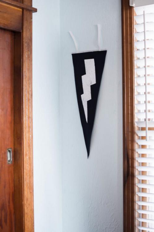 Lightning Bolt pennant flag