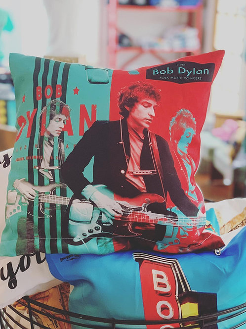 Bob Dylan Decorative Pillow