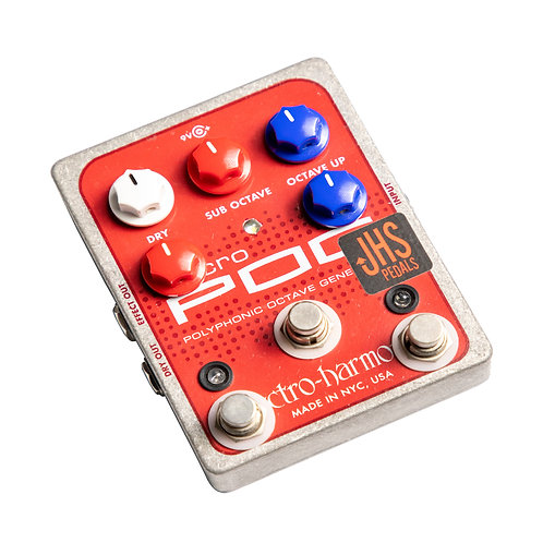 EHX Micro Pog - JHS Quadra Pog Mod