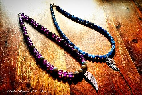 Halskette mit deinen Steinen