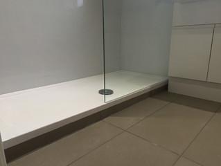 Carols new shower room.
