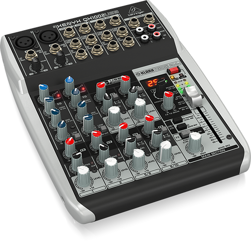 Xenyx QX1002USB Mixer with USB and Effects