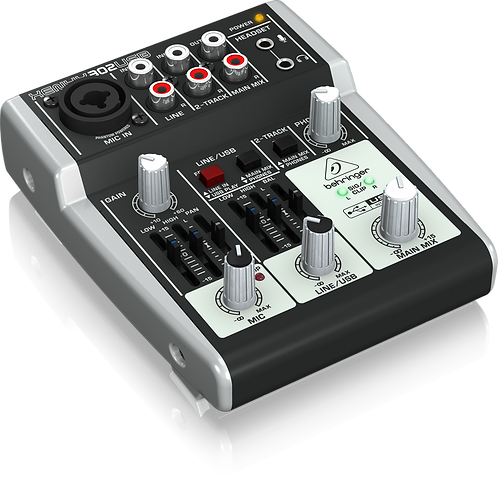 Xenyx 302USB Mixer with USB