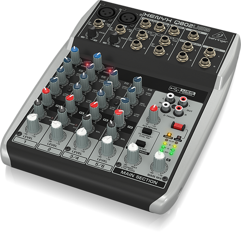 Xenyx Q802USB Mixer with USB