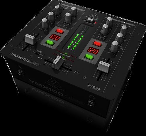Pro Mixer VMX100USB 2-channel DJ Mixer