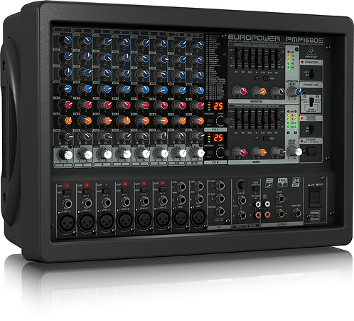 Europower PMP1680S 10-channel 1600W Powered Mixer
