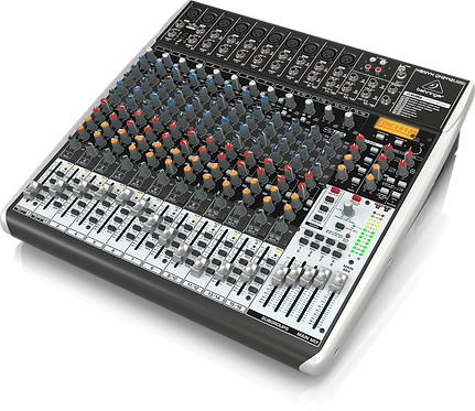 Xenyx QX2442USB Mixer with USB and Effects