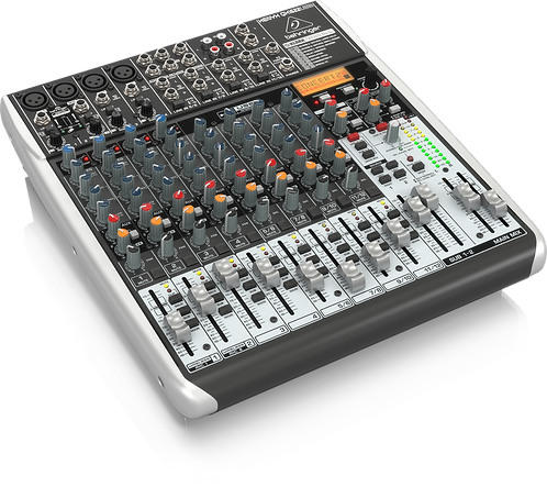 Xenyx QX1622USB Mixer with USB and Effects