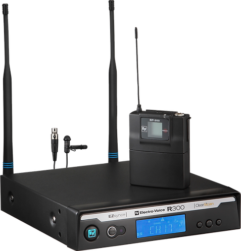 R300L Lavalier Wireless Microphone System