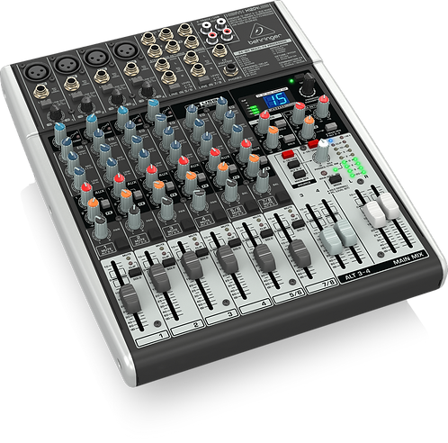 Xenyx X1204USB Mixer with USB and Effects