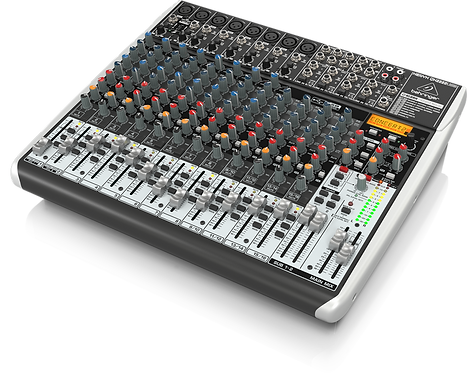 Xenyx QX2222USB Mixer with USB and Effects