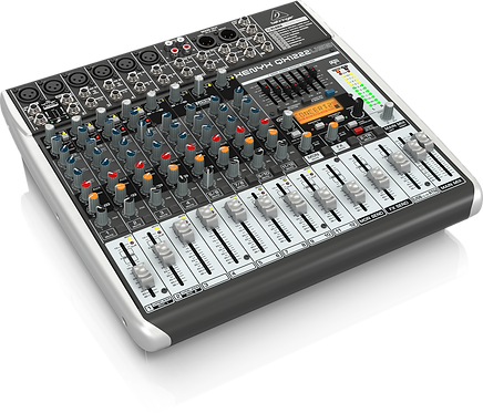 Xenyx QX1222USB Mixer with USB and Effects