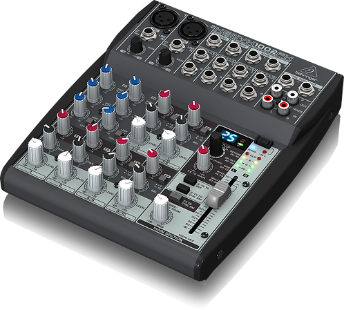 Xenyx 1002FX Mixer with Effects