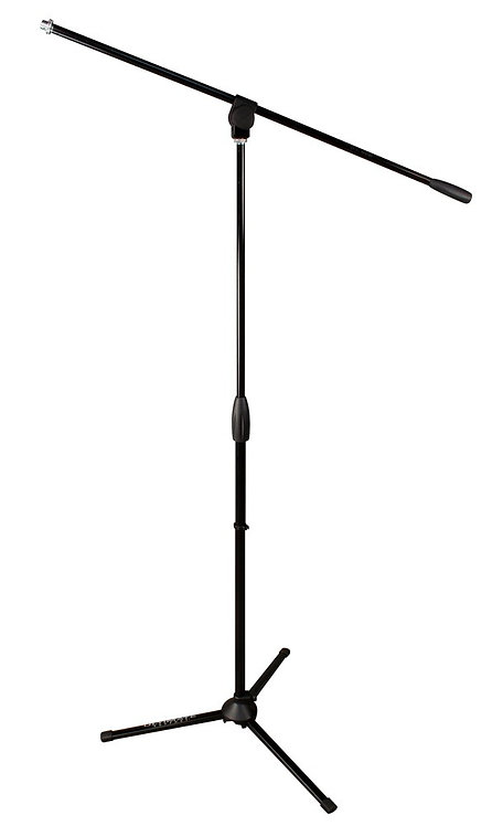 MC40B - Microphone Stand with 3-way Adjustable Boom Arm and Tripod Base