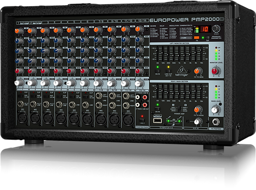 PMP2000D 14-channel 2000W Powered Mixer