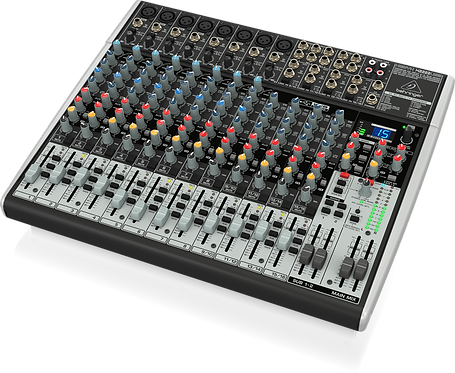 Xenyx X2222USB Mixer with USB and Effects