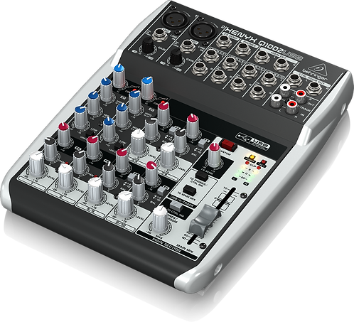 Xenyx Q1002USB Mixer with USB
