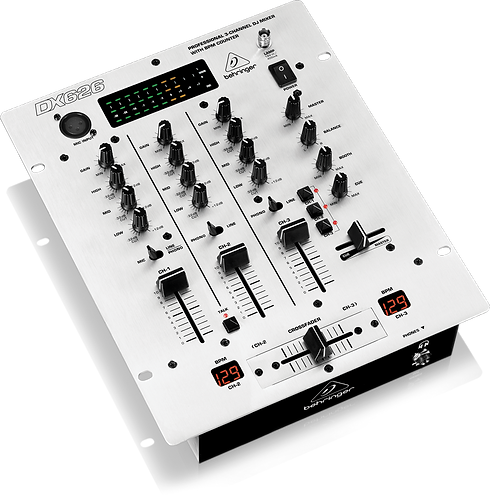 Pro Mixer DX626 3-channel DJ Mixer