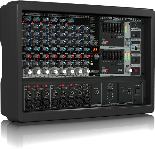 Europower PMP580S 10-channel 500W Powered Mixer