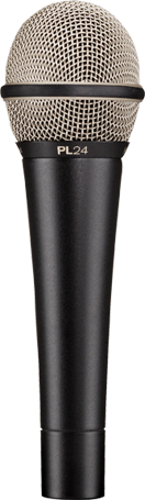 PL-24 Entry‑Level Dynamic Vocal Microphone