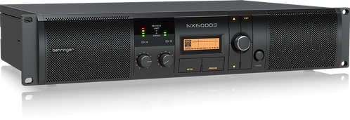 Behringer NX6000D Power Amplifier with DSP