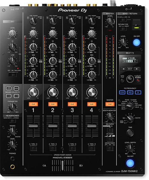 DJ DJM-750MK2 4-channel DJ Mixer