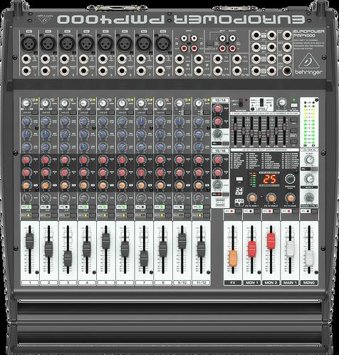 Europower PMP4000 16-channel 1600W Powered Mixer