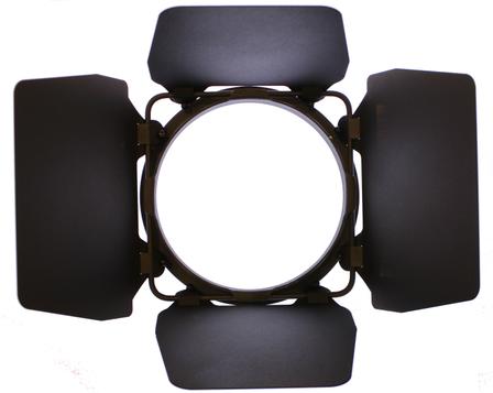 LED Fresnel HP Barndoor